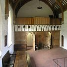 The Brethren's Hall, St Cross Hospital, Winchester, southern England by Philip Mitchell