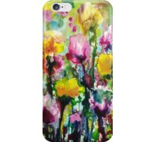 Dancing amongst the Tulips iPhone Case/Skin