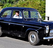 1960s Ford Prefect by Pat Herlihy