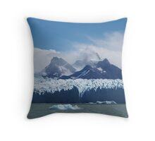 Perito Moreno Throw Pillow