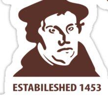 Old Lutheran Sin Boldly Sticker