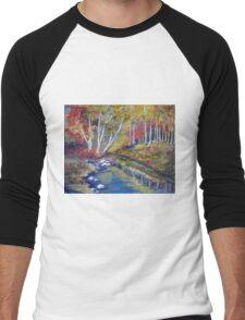 Nature's paint brush Men's Baseball ¾ T-Shirt