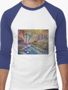 Nature's paint brush Men's Baseball ¾ T-Shirt