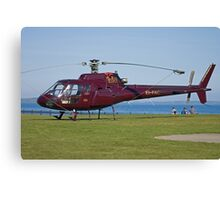 EI-FAC Aerospatiale AS350B1 Ecureuil Helicopter Canvas Print