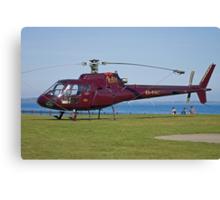EI-FAC Aerospatiale AS350B1 Ecureuil Helicopter Canvas Print