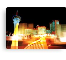 Las Vegas Lights Canvas Print