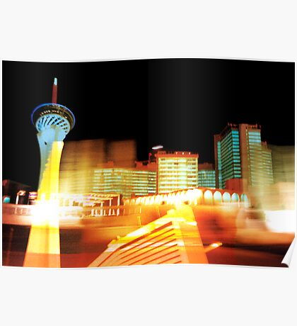 Las Vegas Lights Poster