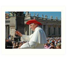 Pope Benedict XVI Art Print