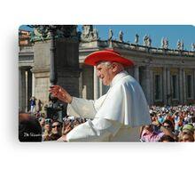 Pope Benedict XVI Canvas Print