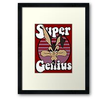 Super Genius Framed Print