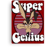 Super Genius Canvas Print