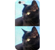 Black Cat- Warhol Style iPhone Case/Skin