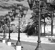 Old street lights by zumi