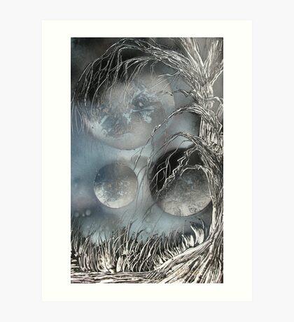 Night of the Orbs Art Print