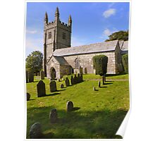 Dartmoor: Lydford Church Poster
