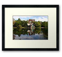 The Harlem Meer Framed Print