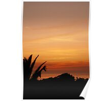 Sunset, Espinho Poster