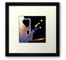Lightest notes Framed Print