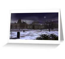 Gravescape Greeting Card