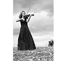 Nature Violin 02 Photographic Print