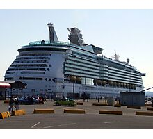 Mariner of the Seas-Victoria Photographic Print