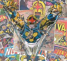 Vintage Comic Nova by Daveseedhouse