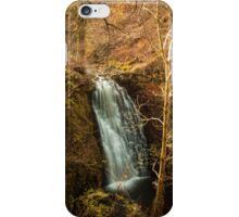 Falling foss water fall iPhone Case/Skin