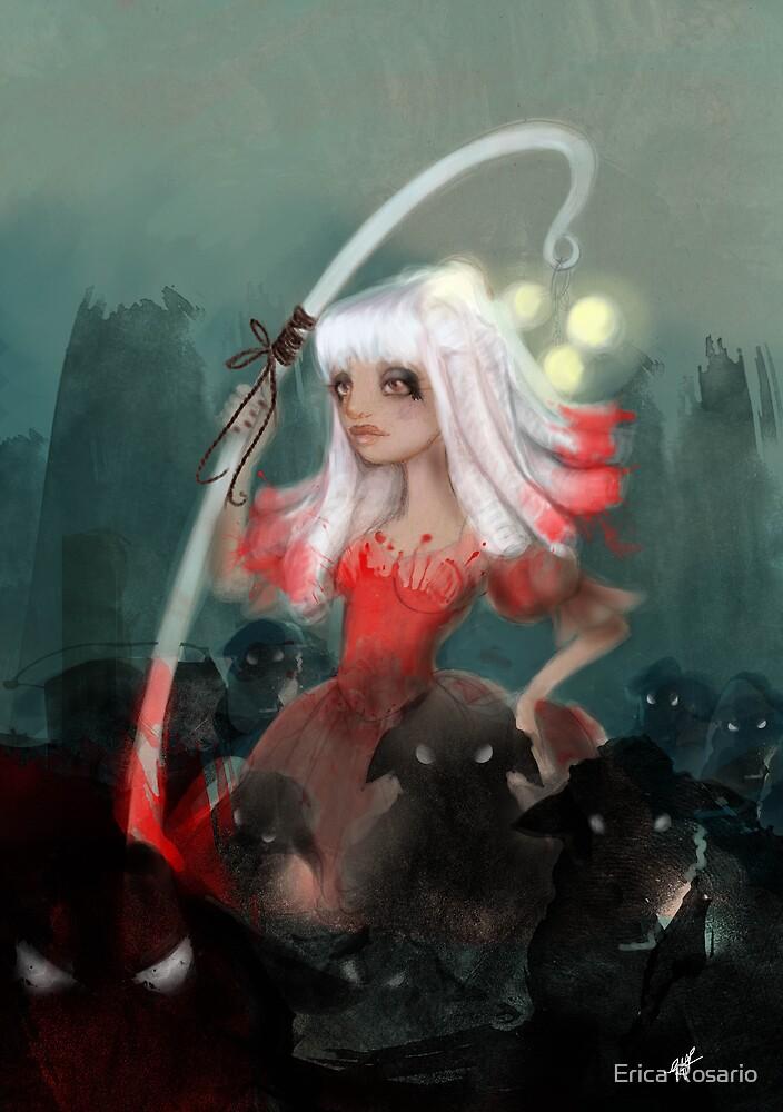 Lolly bo peep and her bleeting phantom sheep by Erica Rosario