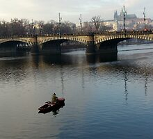 Fisher and Vltava 2 by Nedim Bosnic
