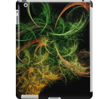 Abstact Art Space Flowers iPad Case/Skin