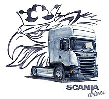 Scania Trucker by dareba