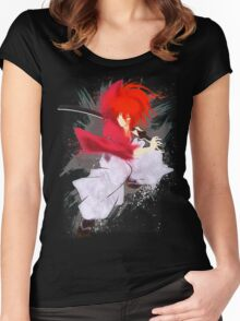 Samurai Splash Women's Fitted Scoop T-Shirt