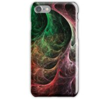 Abstract Art Space Fire iPhone Case/Skin
