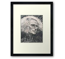 Portrait of Nina Framed Print