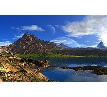 Mount Sadlish Photographic Print