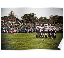 Rugby Grand Final 2009 - Geelong Rams Poster