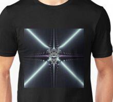 Abstract Art Blue Star Unisex T-Shirt
