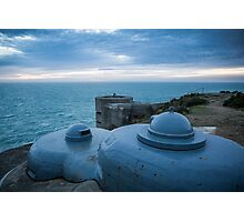 Noirmont, WWII MP-1 Observation tower & the M-132 Underground Command Bunker. Photographic Print
