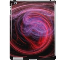 Abstract Art Red Wave iPad Case/Skin