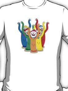 Weird & Wacky Waving Inflatable Arm Flailing Tube Man T-Shirt