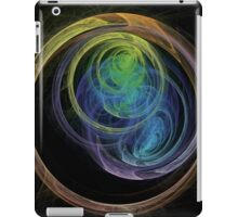 Abstract Art Space Circles iPad Case/Skin
