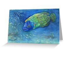 Sad Fish Greeting Card