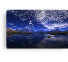 Beneath Distant Suns Canvas Print