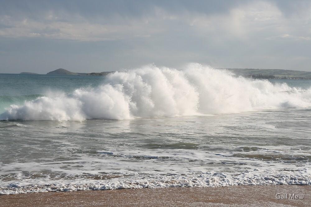"""""""Boomer Beach, Pt Elliot, SA"""" by Gail Mew"""
