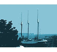 Salling in Lake Ontario...(serie I)!... Photographic Print