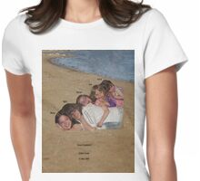 """sand""wiched cousins Womens Fitted T-Shirt"