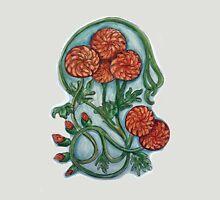 Art Nouveau Chrysanthemum  Unisex T-Shirt
