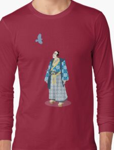 Samurai Serenity Long Sleeve T-Shirt