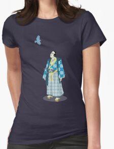 Samurai Serenity Womens Fitted T-Shirt