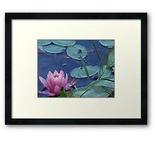 Dragon Flower Framed Print